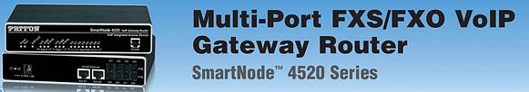 Patton SmartNode SN4520 Series VoIP Gateway Routers